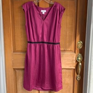 Magenta Dress size 8. Anne Taylor Loft